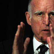 Jerry Brown Addresses Conference In San Francisco