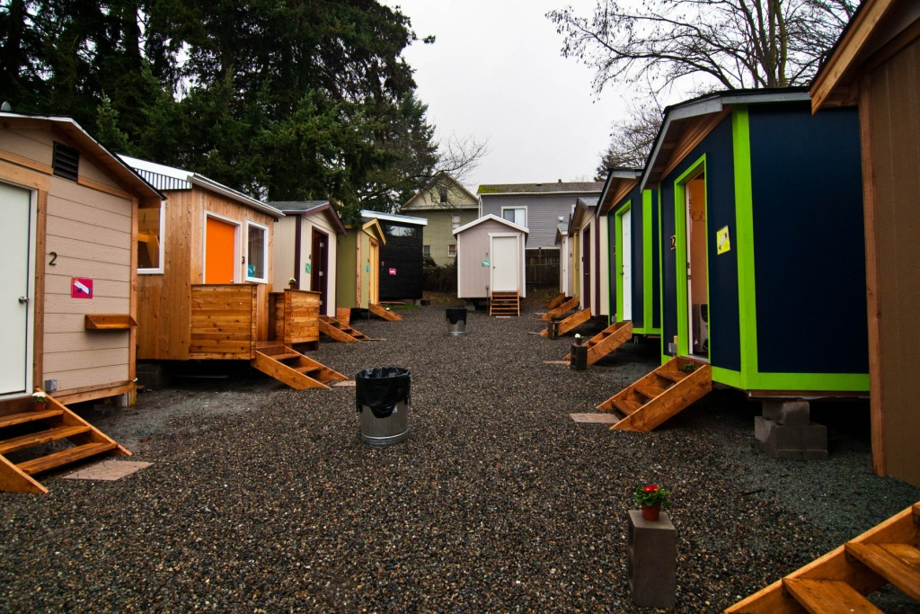 One of seattles tiny house villages