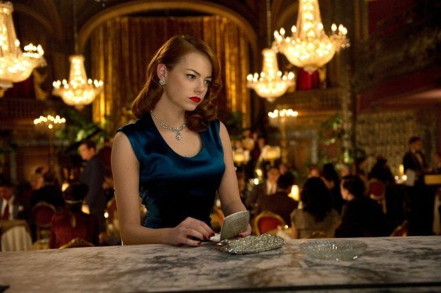 "Emma Stone in a still from ""Gangster Squad"" (2013)"