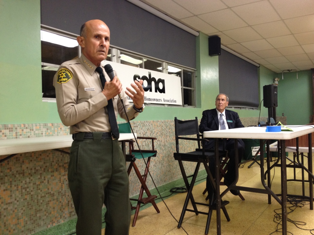Sheriff Lee Baca insisted his department is in good shape, despite two federal investigations into his jail system.
