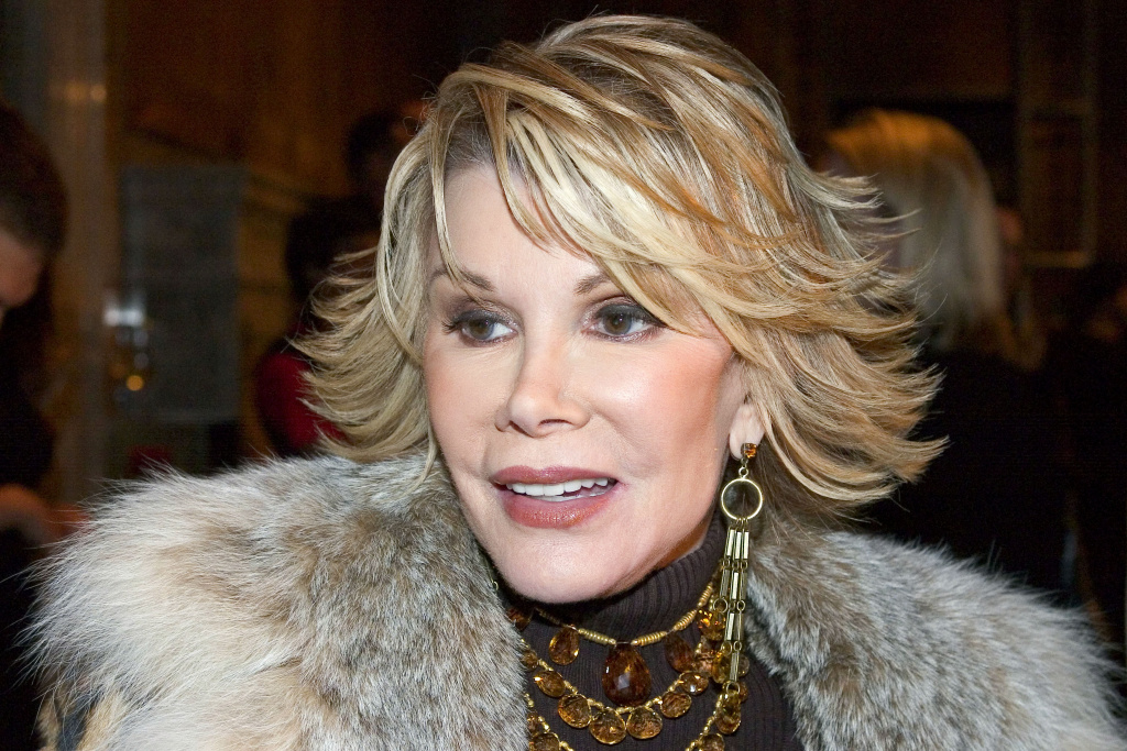 Joan Rivers on October 25, 2004 in New York City.