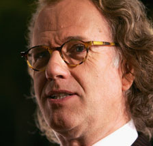 Violinist, composer, and cheese-wiz Andre Rieu in 2009.
