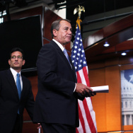 Boehner,Cantor Discuss Job Creation And Employment At The Capitol