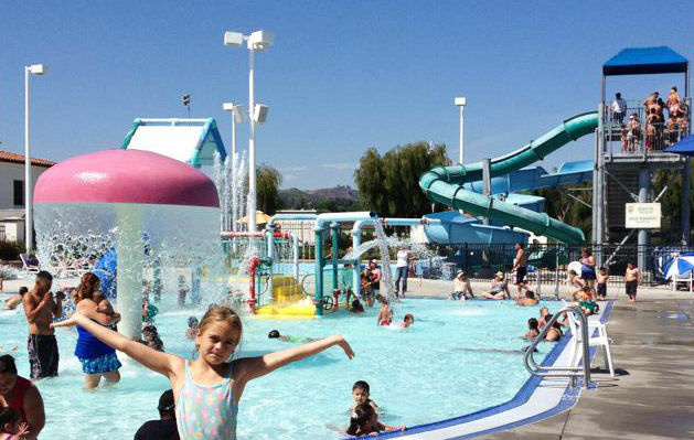 Found this great pool in Ventura: it was 10 degrees cooler than the 102 in Oak Park, Joel Goldes said.