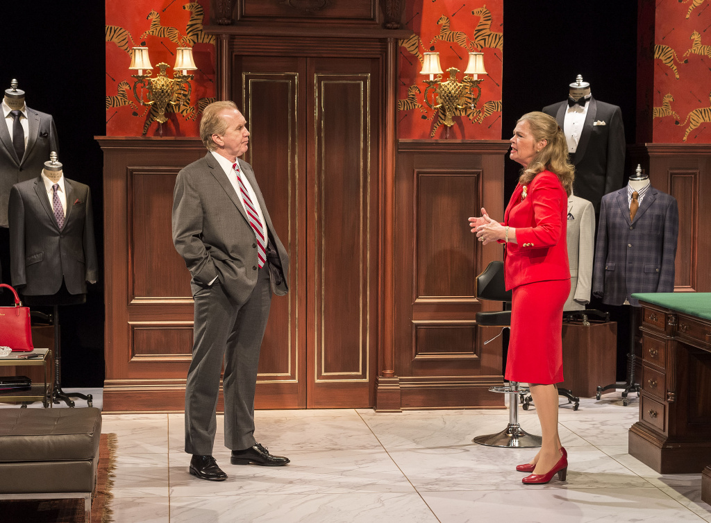 """Harry Groener is a Donald Trump-like candidate and Linda Gehringer is a GOP operative in the world premiere of Jon Robin Baitz's """"Vicuña"""" at the Kirk Douglas Theatre."""