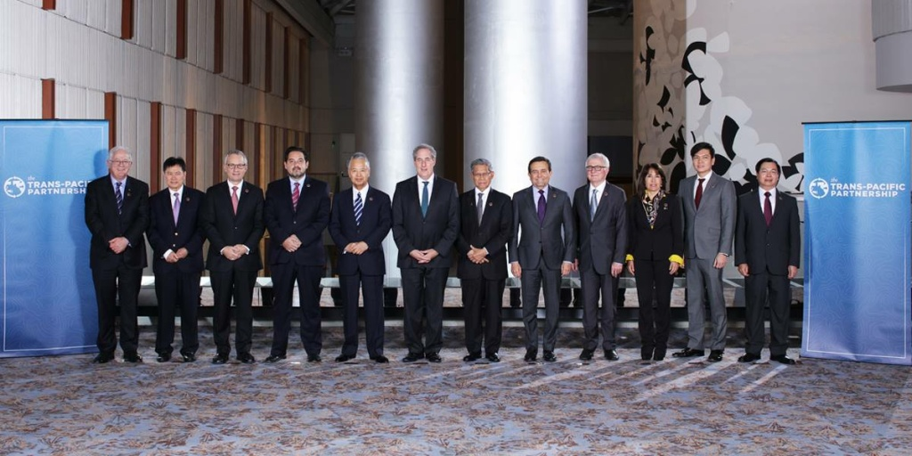 Ambassador Michael Froman & Ministers gathered in Atlanta for the Trans-Pacific Partnership Ministerial.