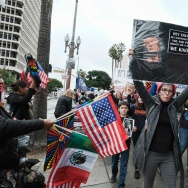 Presidents Day Protests Los Angeles
