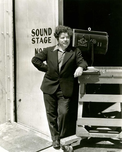 Jim Tully on the MGM lot.