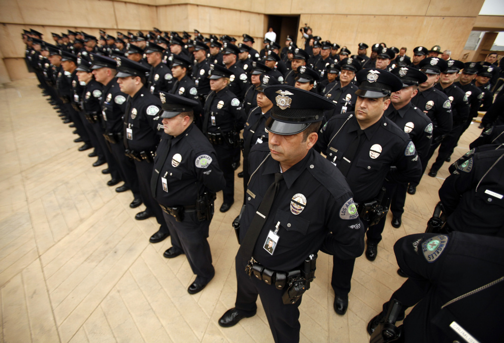the recruitment process and requirements at the los angeles police department