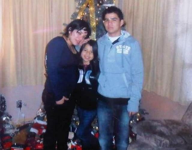 Nelson Avila Lopez and his sisters, in Los Angeles. Photo courtesy of the Avila Lopez family.