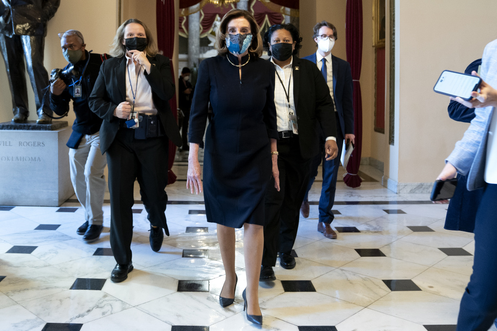 House Speaker Nancy Pelosi, D-Calif., said that impeaching President Trump is
