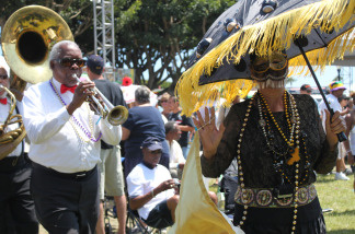 More than 1,000 attended the Long beach Crawfish Festival to celebrate Cajun culture on Aug. 7-8, 2010 in Long Beach, Calif.