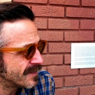 Marc Maron, author, broadcaster, comedian, in LA's Highland Park neighborhood.