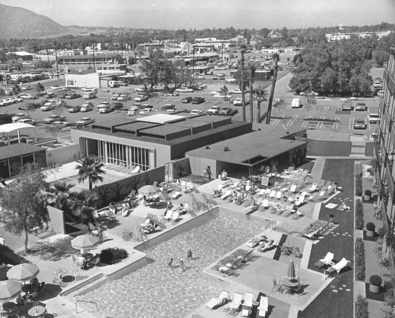 The Palm Springs Spa Hotel in 1966.
