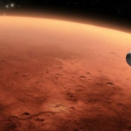 Approaching Mars