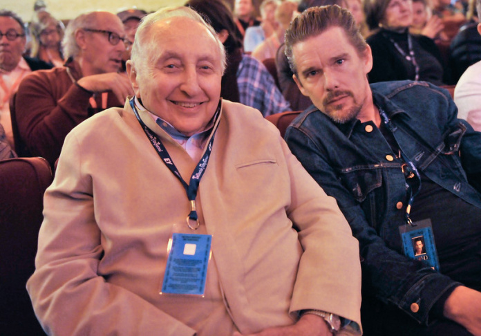 Pianist Seymour Bernstein in the subject of Ethan Hawke's first documentary,