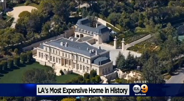 A Los Angeles Mansion Has Reportedly Sold For 102 Million Southern California Record