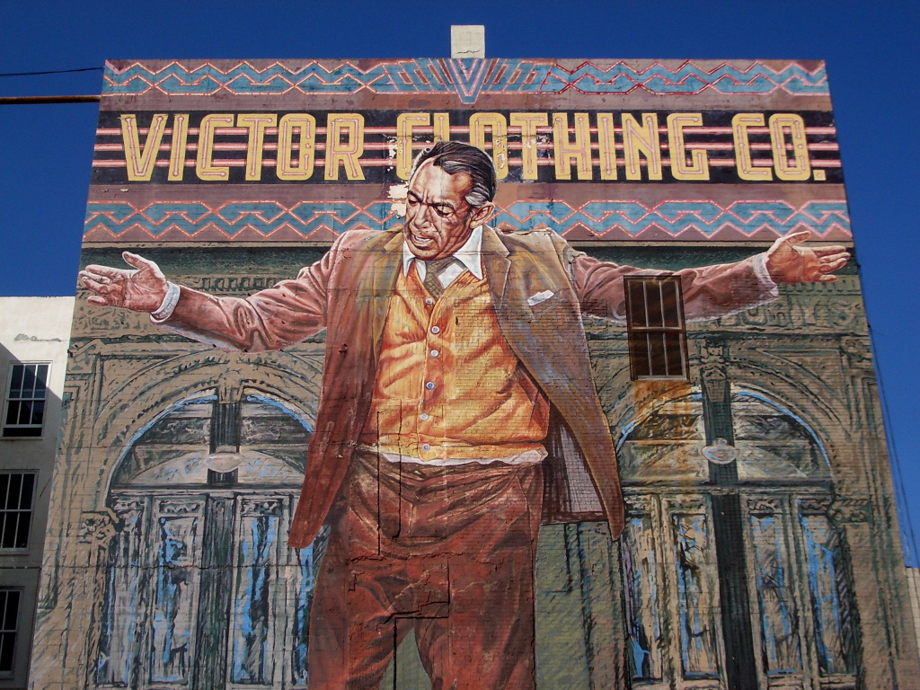 Anthony Quinn Mural Of Famed Mural Of Anthony Quinn To Get Makeover 89 3 Kpcc