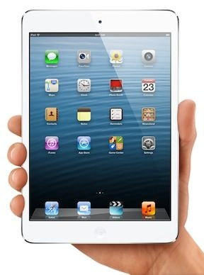 An image of the iPad mini.
