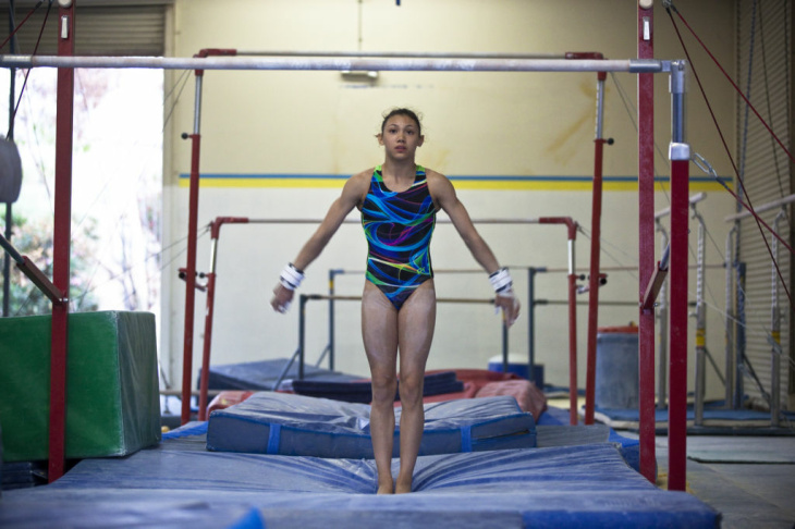 Kyla Ross - Gymnast heads to 2012 Summer Olympics with Team USA