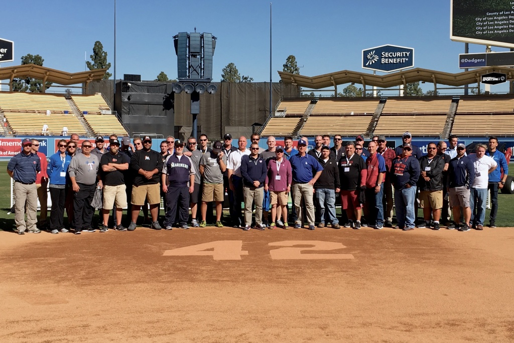 The 18th Annual MLB Groundskeepers Conference reunited groundskeepers from all over the nation at Dodgers Stadium