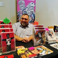 Artist Javier Hernandez co-founded the Latino Comics Expo alongside Ricardo Padilla.  Both men say the goal was simply to get all Latino/a comic-book artists together under one roof to talk, share and support the field.