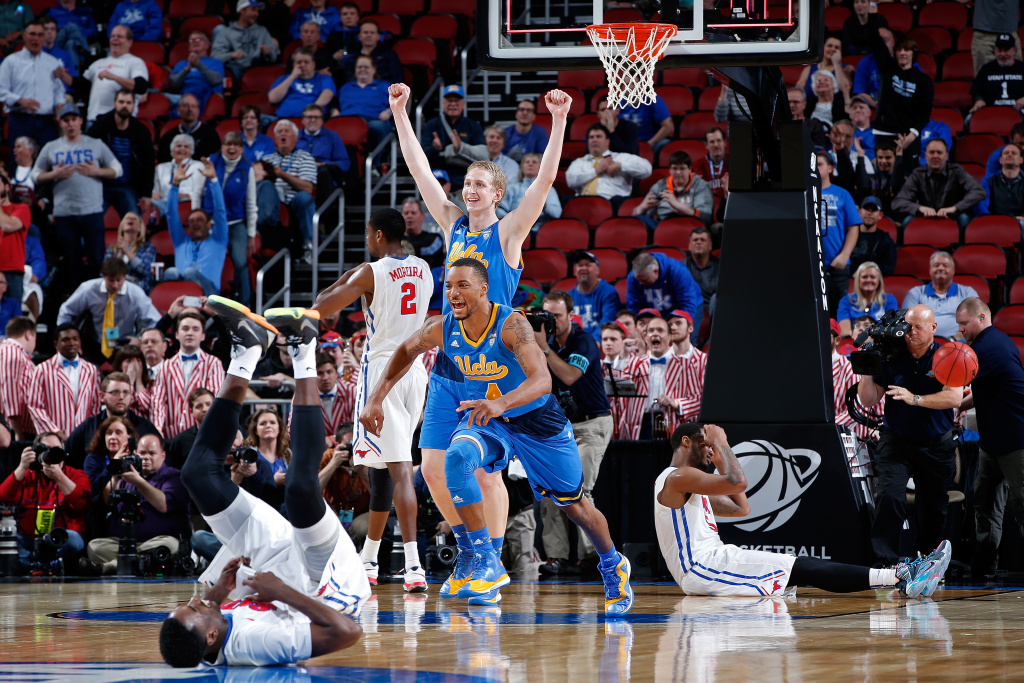 11th-seeded UCLA upsets 6th-seeded SMU 60-59 on controversial call
