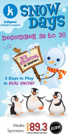 Kidspace Children's Museum - Snow Days