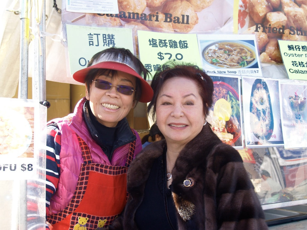 Pinki Chen made the rounds at the recent Chinese New Year festival, greeting long-time vendors she worked with for the two decades she ran the celebration.