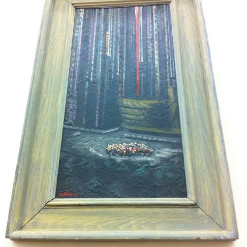 Philip Stein painting