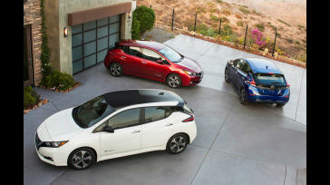 The 2018 Nissan Leaf Is A Battery Electric Vehicle That Starts At 29 990 And Can Travel
