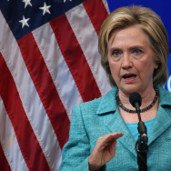 Hillary Clinton Gives Speech In Support Of Iran Nuclear Deal