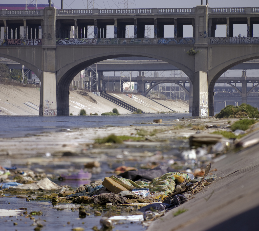 File: Along the LA River