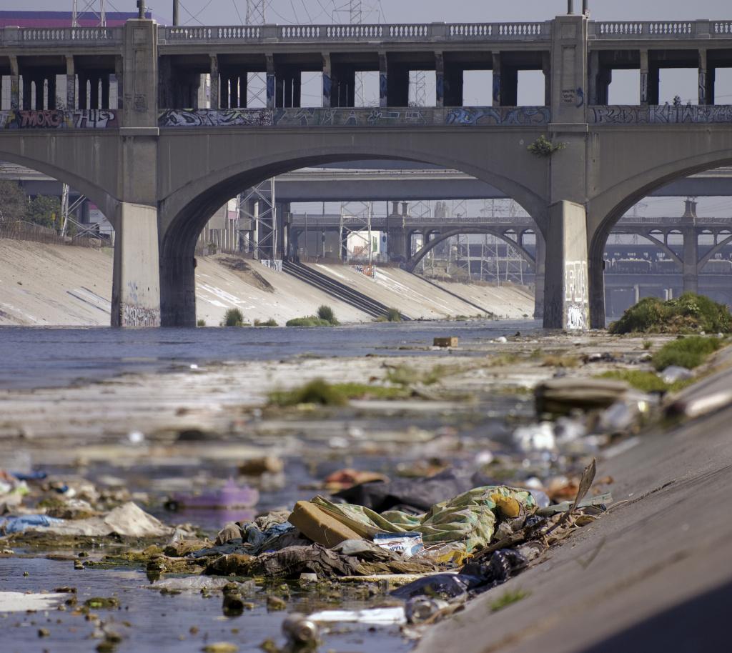 File: Along the LA River