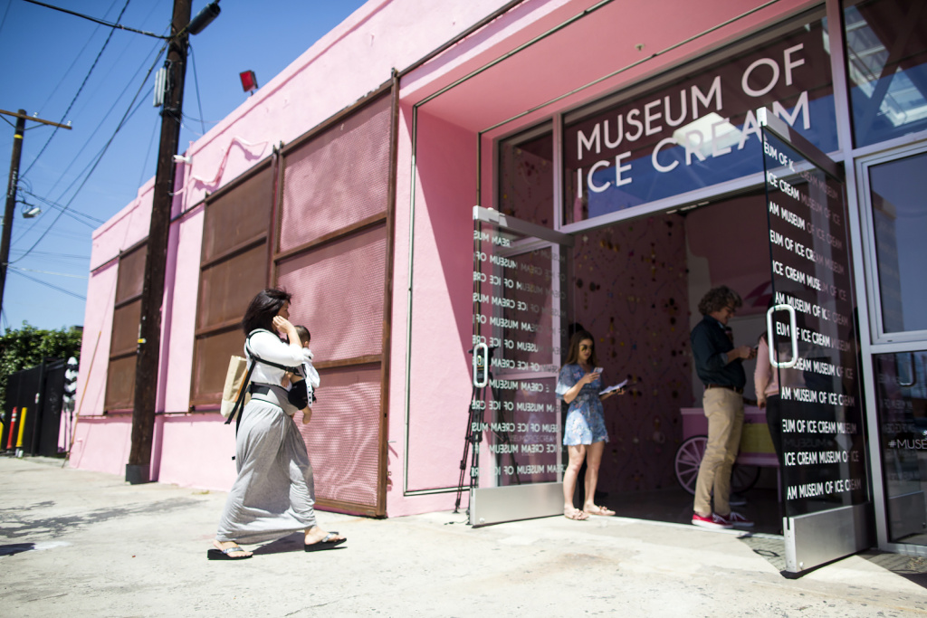 The Museum of Ice Cream in the Arts District is open from April 22 through May 29.