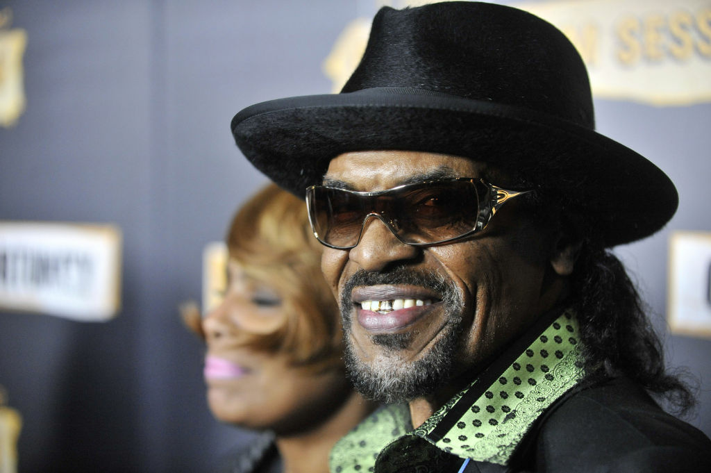 Chuck Brown attends the 7th Annual Roots Jam Session hosted by Jimmy Fallon at The Music Box on February 12, 2011 in Los Angeles, California.
