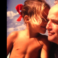 Marlon Brando and his late daughter Cheyenne