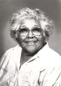 Katherine Siva Saubel, one of the last native speakers of the Cahuilla language.