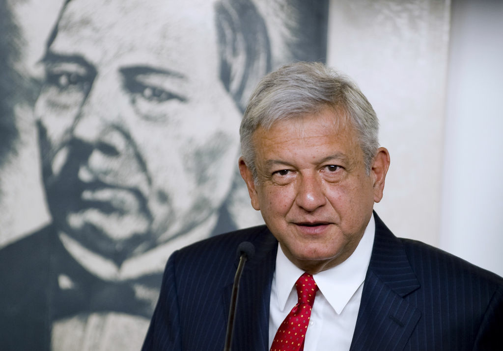 Andres Manuel Lopez Obrador, Mexican presidential candidate for the leftist coalition Progressive Movement of Mexico. He plans to rally supporters in Los Angeles on Sunday.