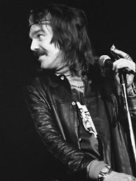 Captain Beefheart performs at the Convocation hall, Toronto, 1974.