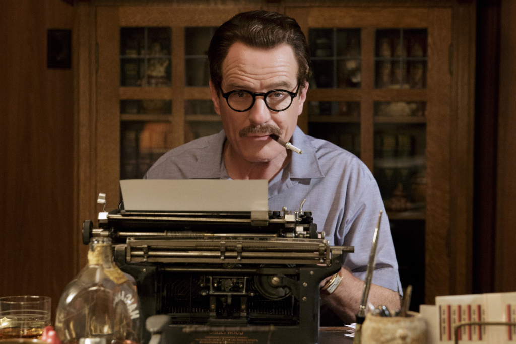 Bryan Cranston plays blacklisted Hollywood screenwriter Dalton Trumbo in