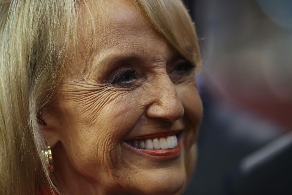 Arizona Gov. Jan Brewer attends the Republican National Convention at the Tampa Bay Times Forum on August 28, 2012 in Tampa, Florida.