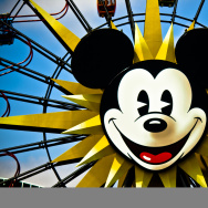 Mickey mouse disneyland