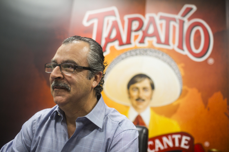The Tapatio hot sauce factory is located in Vernon. The 30,000-square-foot building houses production for the family-owned hot sauce company.