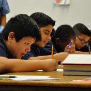 LAUSD Students Leland Street Elementary School San Pedro