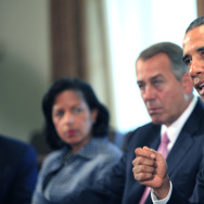 Obama Meets With Members of Congress