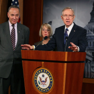 Senator Harry Reid Discusses The Highway Bill