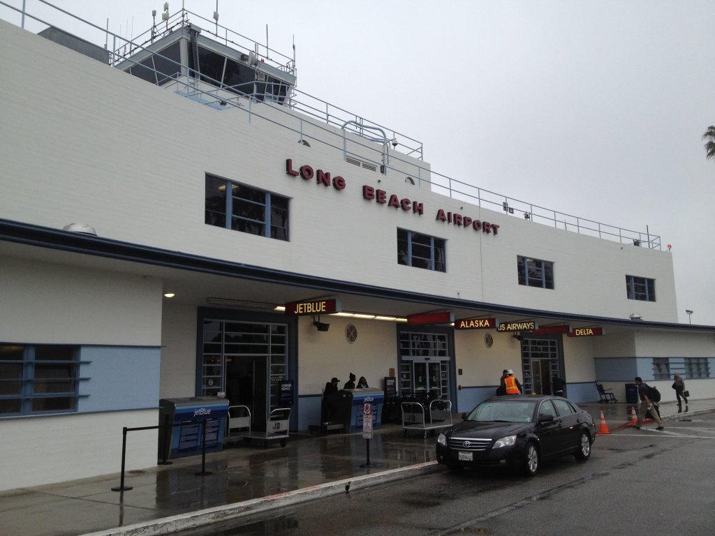 A Department of Transportation report shows the Long Beach Airport has the second lowest average domestic airfares in the U.S. at $234. The lowest average fare is $157 at Atlantic City's airport.