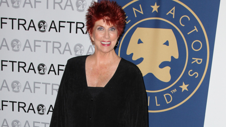 Actress Marcia Wallace, who died Friday at age 70, was a fixture on American television for decades, thanks to long-running roles on The Bob Newhart Show and The Simpsons. She's seen here in 2010.