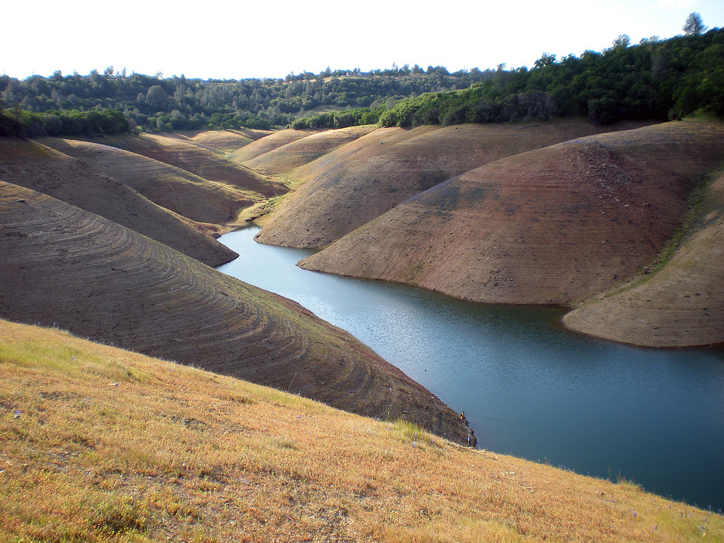 A view of Lake Oroville from the Lime Saddle area, near Paradise. The reservoir is at 41% of capacity.
